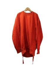 JOHN LAWRENCE SULLIVAN(ジョンローレンスサリバン)の古着「ビッグシルエットスウェットシャツ」|オレンジ