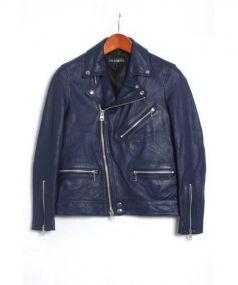 JACKROSE(ジャックローズ)の古着「ライダースジャケット」|ブルー