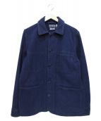 BLUE BLUE(ブルーブルー)の古着「本藍刺し子USED COVERALL」|インディゴ