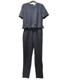 REKISAMI(レキサミ)の古着「オールインワン」|ブラック