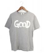 GOOD ENOUGH(グッドイナフ)の古着「プリントTシャツ」|グレー