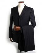 GUCCI(グッチ)の古着「3Bストライプスーツ」|ダークグレー