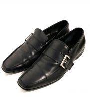 PRADA(プラダ)の古着「ローファー」|ブラック