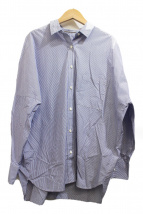 DEUXIEME CLASSE(ドゥーズィエムクラス)の古着「ストライプドロップショルダーシャツ」
