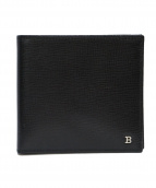 BALLY(バリー)の古着「2つ折り財布」|ブラック