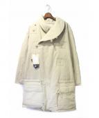 NAISSANCE(ネサーンス)の古着「オーバーサイズボンバーコート」|ベージュ