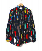 Paul Smith(ポールスミス)の古着「FEATHER PRINT SHIRT」
