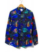 Paul Smith(ポールスミス)の古着「トロピカルフィッシュシャツ」