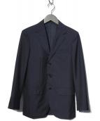 UNITED ARROWS TOKYO(ユナイティッドアローズトウキョウ)の古着「モヘヤトロピカルウール3Bスーツ」|ネイビー