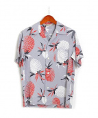 FULLCOUNT(フルカウント)の古着「アロハシャツ」|グレー