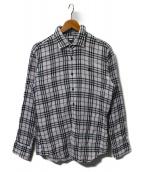 BURBERRY BLACK LABEL(バーバリーブラックレーベル)の古着「ガーゼチェックシャツ」
