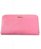 FURLA(フルラ)の古着「長財布」 ピンク