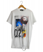 DSQUARED2(ディースクエアード)の古着「STAR TREKKINGプリントTシャツ」|ホワイト