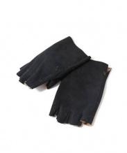 ISAMU KATAYAMA BACKLASH(イサムカタヤマ・バックラッシュ)の古着「レザーグローブ」|ブラック