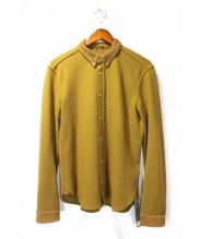 ISAMU KATAYAMA BACKLASH(イサムカタヤマ バックラッシュ)の古着「ウールシャツ」 オリーブ