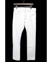 ISAMU KATAYAMA BACKLASH(イサムカタヤマ バックラッシュ)の古着「デニムパンツ」 ホワイト