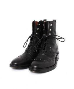 SARTORE(サルトル)の古着「スタッズウィングチップブーツ」|ブラック