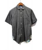 JUNYA WATANABE COMME des GARCONS(ジュンヤワタナベ コムデギャルソン)の古着「半袖シャツ」 ブラック