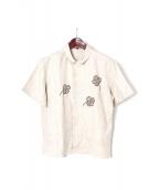 J-B-J P.J.(ジュープバイジャッキープロジェクト)の古着「リネンシャツ」|ベージュ