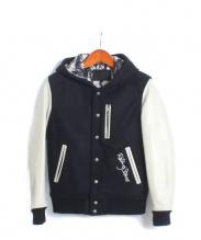 JACKROSE VINTAGE(ジャックローズ ヴィンテージ)の古着「フーデッドスナップジャケット」|ブラック