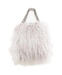 STELLA McCARTNEY(ステラマッカートニー)の古着「ファラベラエコファー2WAYバッグ」|グレー