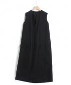 08sircus(ゼロエイトサーカス)の古着「ロングジレ」|ブラック