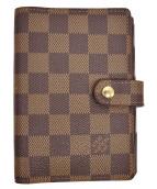 LOUIS VUITTON(ルイヴィトン)の古着「手帳カバー」|ブラウン
