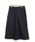 CHRISTOPHE LEMAIRE(クリストフ ルメール)の古着「フレアスカート」|ブラック