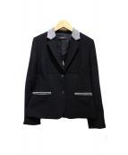 Paul Smith BLACK(ポールスミスブラック)の古着「テーラードジャケット」|ブラック