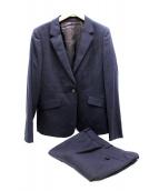 23区(23ク)の古着「ファインオックスストレッチパンツスーツ」|ネイビー