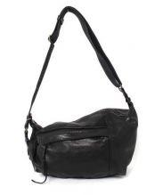 MAPHIA DESIGN(マフィアデザイン)の古着「レザーボディーバッグ」|ブラック