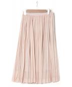 Lisette(リゼッタ)の古着「プリーツスカート」|ベージュ
