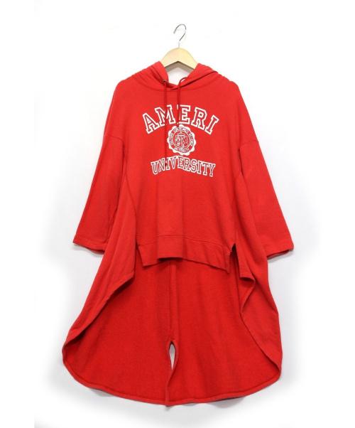 Americana(アメリカーナ)Americana (アメリカーナ) AMERIパーカー レッド サイズ:- 参考定価¥19.000の古着・服飾アイテム