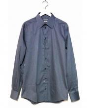 DOLCE & GABBANA(ドルチェ&ガッバーナ)の古着「ドレスシャツ」|ネイビー