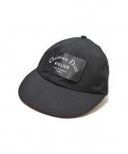 Dior Homme(ディオールオム)の古着「CHRISTIAN DIOR ATELIERウールキャップ」|ブラック