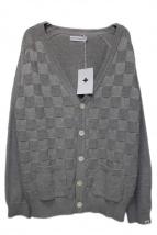 HEAD PORTER PLUS(ヘッドポータープラス)の古着「ブロックチェックカーディガン」