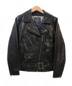 MAISON DE REEFUR(メゾン ド リーファー)の古着「レザーライダースジャケット」|ブラック