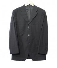 BURBERRY BLACK LABEL(バーバリーブラックレーベル)の古着「3ボタンセットアップスーツ」|ブラック