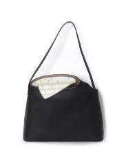 HIROKO HAYASHI(ヒロコハヤシ)の古着「セミショルダーバッグ」|ブラック