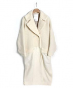 ELENDEEK(エレンディーク)の古着「異素材MIXコート」|オフホワイト