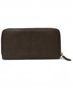 Felisi(フェリージ)の古着「ラウンドファスナー財布」|ブラウン