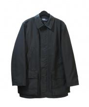 POLO RALPH LAUREN(ポロ・ラルフローレン)の古着「ステンカラーコート」 ブラック