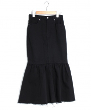 CLANE(クラネ)の古着「MARMAID DENIM SKIRT」