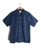 Battenwear(バテンウェア)の古着「5Pocket Island Shirt」|ネイビー