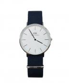 Daniel Wellington(ダニエルウェリントン)の古着「腕時計」|ミッドナイトブルー
