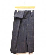 BALENCIAGA(バレンシアガ)の古着「チューブラーボックスプリーツスカート」