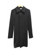 BLACK COMME des GARCONS(ブラックコムデギャルソン)の古着「バックフリルコート」