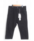 DRK SHDW(ダークシャドウ)の古着「クロップドサルエルパンツ」|ブラック