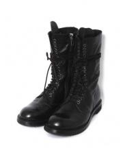 RICK OWENS(リックオウエンス)の古着「Army Boot/ブーツ」|ブラック
