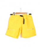 Battenwear(バテンウエア)の古着「Camp Shorts」|イエロー